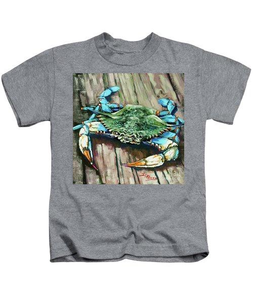 Crabby Blue Kids T-Shirt