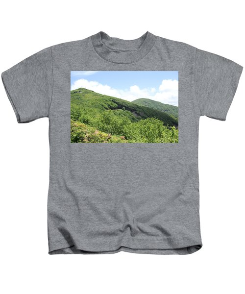 Craggy Gardens Kids T-Shirt