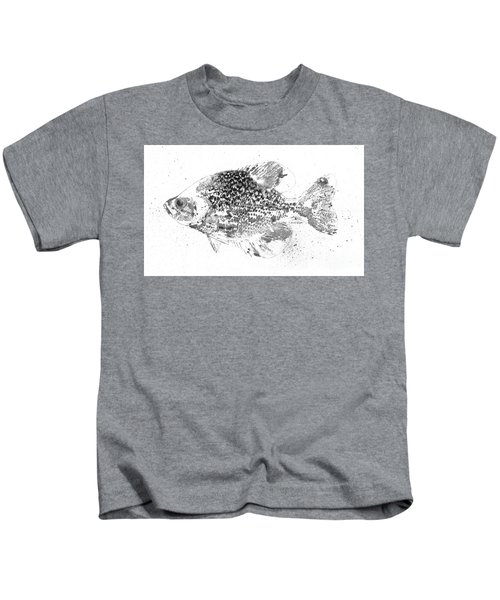 Crappie Abstract Kids T-Shirt