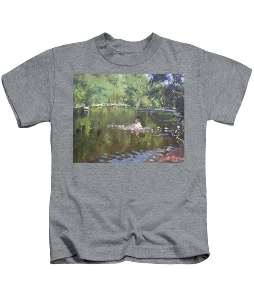 Credit River By Norval On Kids T-Shirt