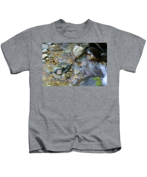 Creek On Mt Tamalpais Kids T-Shirt