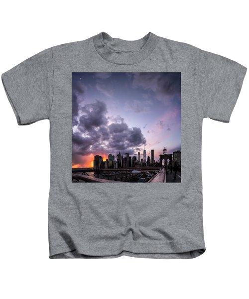 Crepsucular Nights Kids T-Shirt