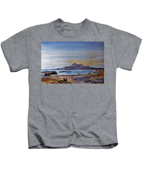 F801  Croagh Patrick From Old Head, Mayo Kids T-Shirt