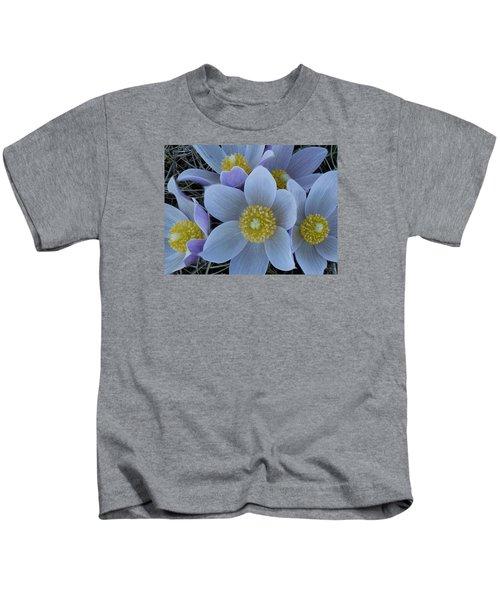 Crocus Blossoms Kids T-Shirt