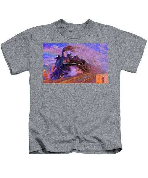 Crossing Rails Kids T-Shirt