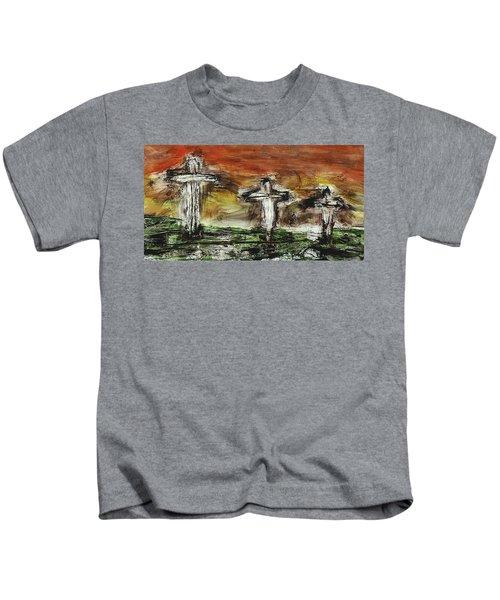 Crucifixion #2 Kids T-Shirt