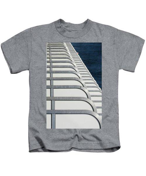 Cruise Ship's Balconies Kids T-Shirt