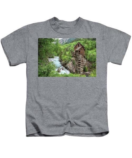 Crystal Mill Colorado 3 Kids T-Shirt