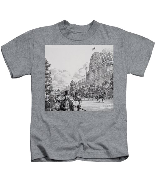 Crystal Palace Kids T-Shirt by Pat Nicolle