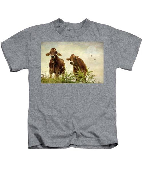 Curious Cows Kids T-Shirt