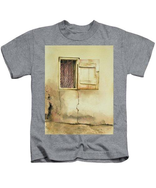 Curtain In Window Kids T-Shirt