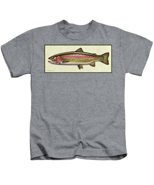 Cutthroat Trout Id Kids T-Shirt