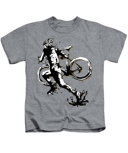 Cyclocross Poster1 Kids T-Shirt