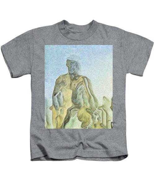 Cyclops Kids T-Shirt by Joaquin Abella