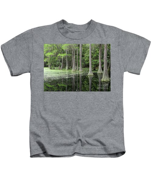 Cypresses In Tallahassee Kids T-Shirt