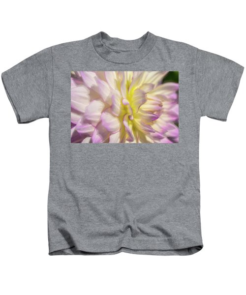 Dahlia Study 5 Painterly  Kids T-Shirt