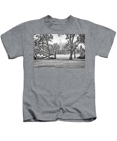 Dale - Foggy Morning Kids T-Shirt
