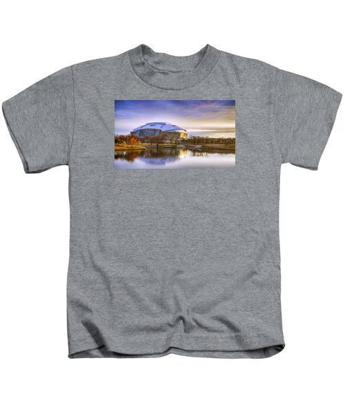 Dallas Cowboys Stadium Arlington Texas Kids T-Shirt