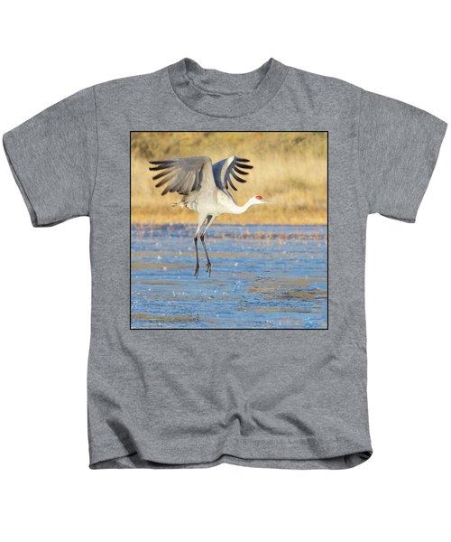 Dancing Crane Kids T-Shirt