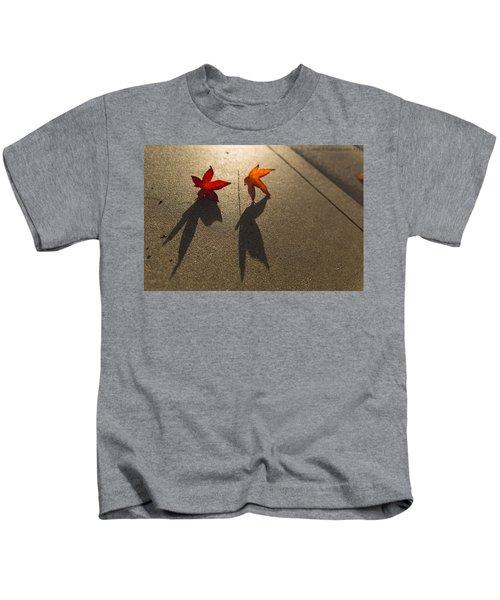Dancing Leaves Kids T-Shirt