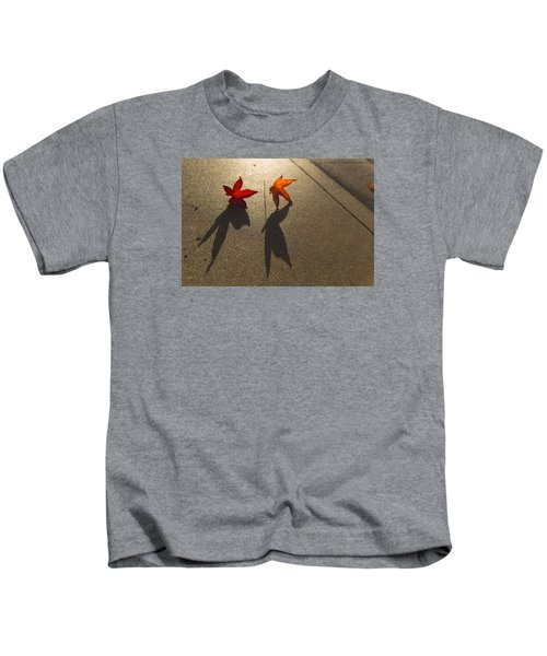 Dancing Leaves Kids T-Shirt