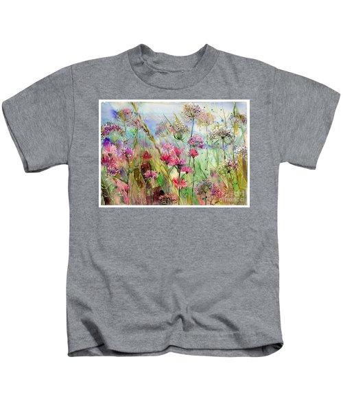 Dancing Thistles Kids T-Shirt