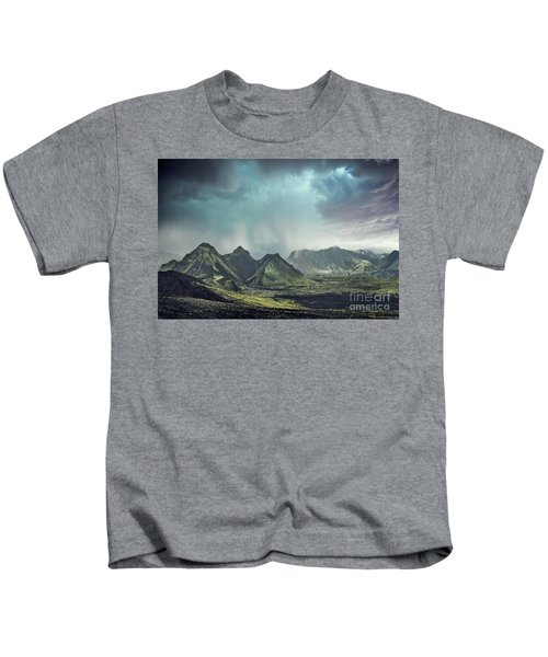 Dark Gods Arise Kids T-Shirt