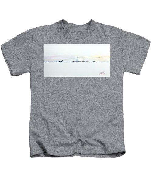 Dawn New York City Kids T-Shirt