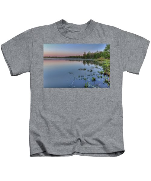 Dawn Over North Bay Kids T-Shirt