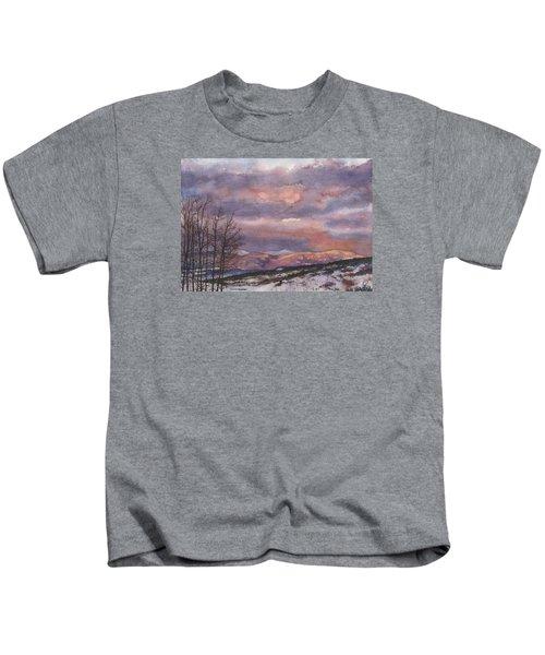 Daylight's Last Blush Kids T-Shirt