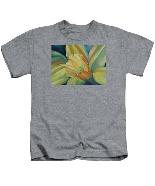 Dazzling Daffodil Kids T-Shirt