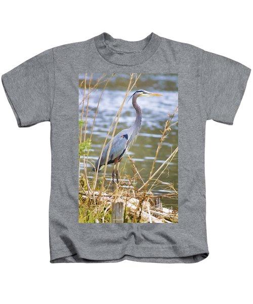 De Leon Springs Blue Kids T-Shirt