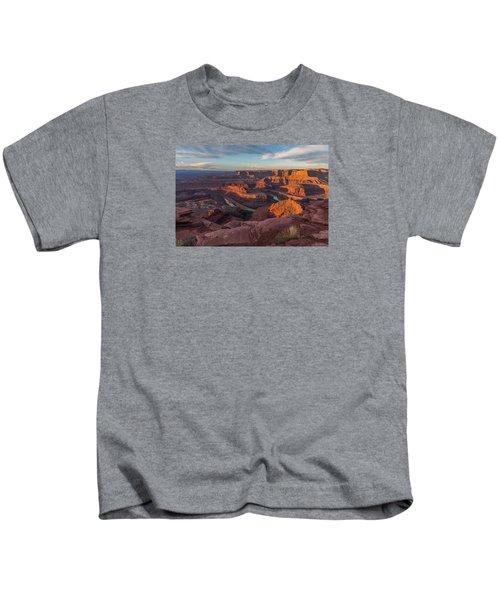 Dead Horse Point Sunrise Kids T-Shirt