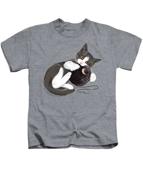 Death Star Kitty Kids T-Shirt