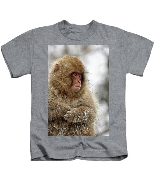 Deep In Thought Kids T-Shirt