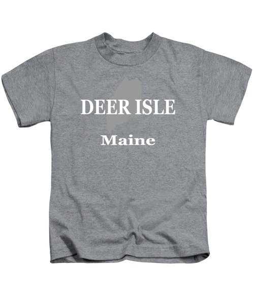 Deer Isle Maine State City And Town Pride  Kids T-Shirt