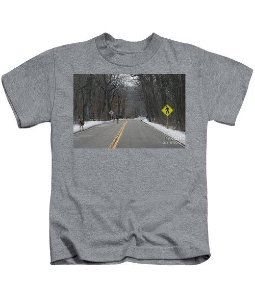Deer Path? Kids T-Shirt