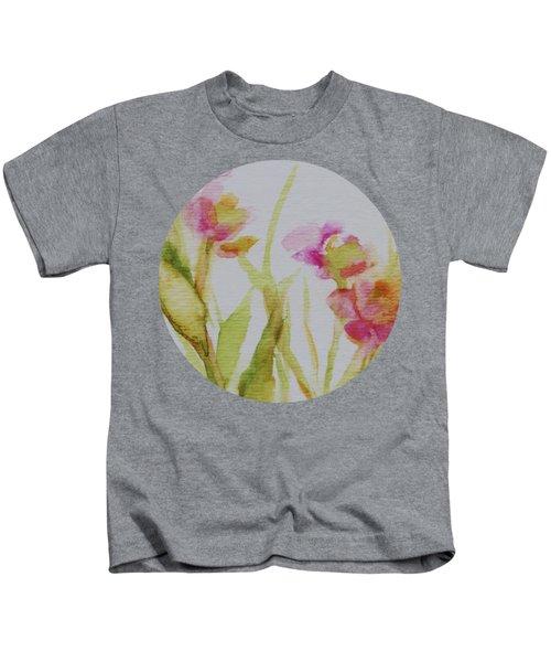 Delicate Blossoms Kids T-Shirt