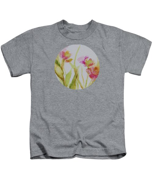 Delicate Blossoms Kids T-Shirt