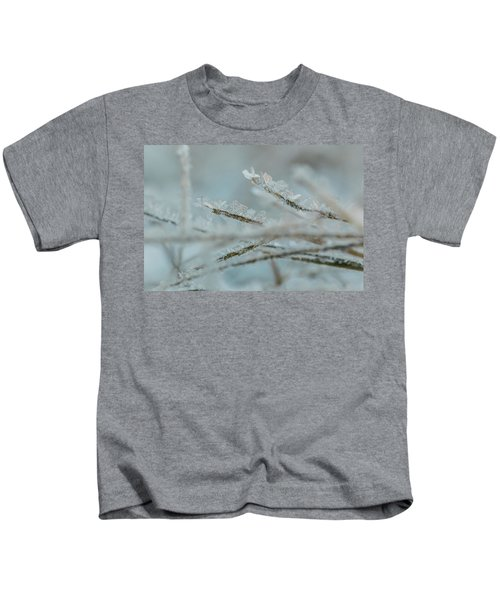 Delicate Morning Frost  Kids T-Shirt
