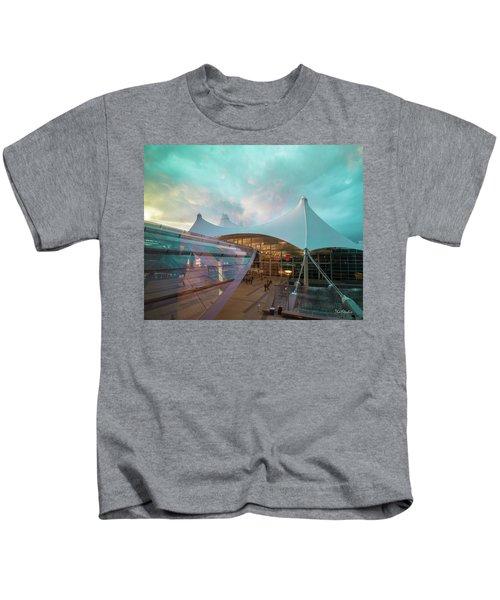 Denver International Airport Kids T-Shirt