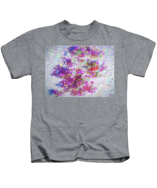 Desert Flowers Abstract 3 Kids T-Shirt