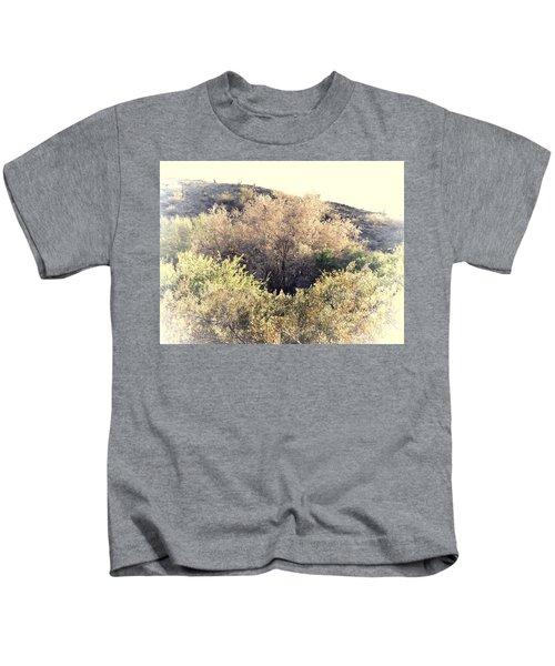 Desert Ironwood Afternoon Kids T-Shirt