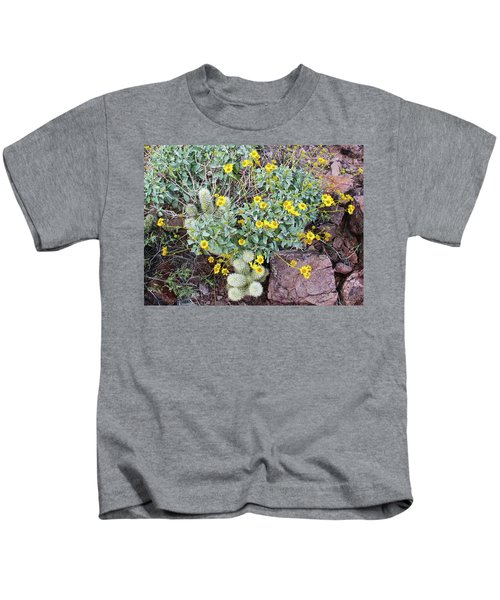 Teddybear Cactus Bouquet Kids T-Shirt