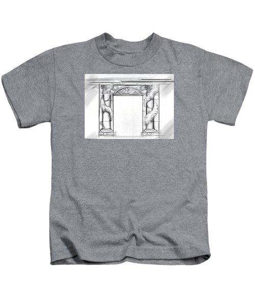 Design For Trompe L'oeil Kids T-Shirt