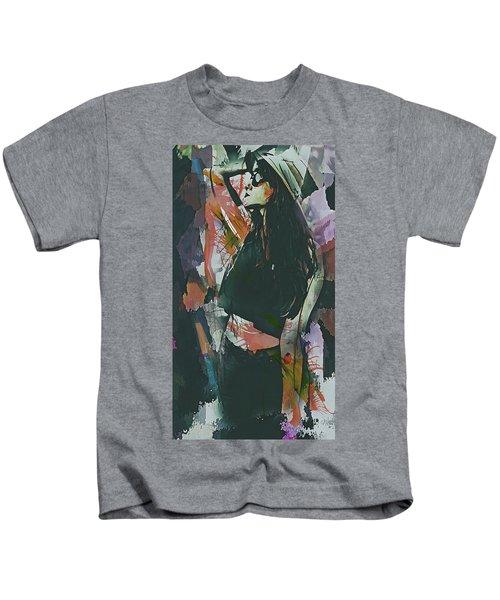 Destinations Abstract Portrait Kids T-Shirt