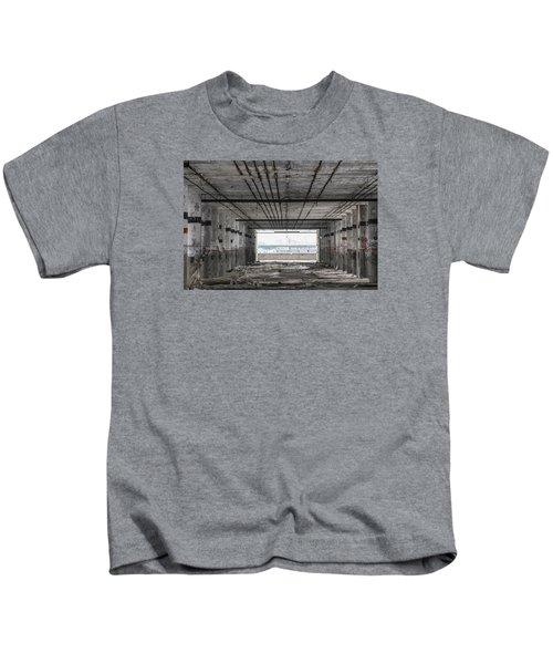 Detroit Packard Plant  Kids T-Shirt