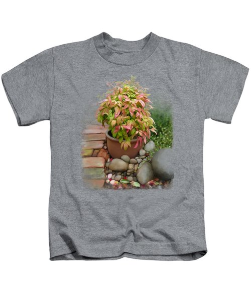 Dew On Leaves Kids T-Shirt