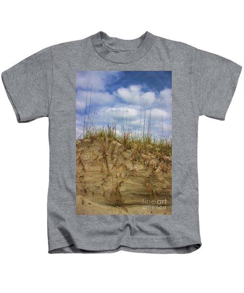 Digging In Deep In Sand Dunes Kids T-Shirt