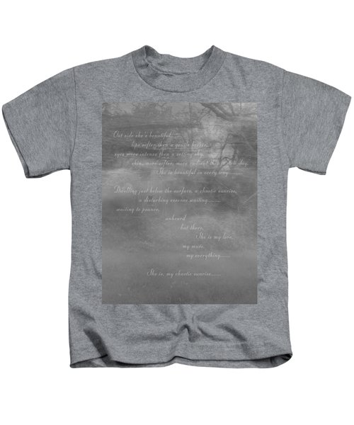 Digital Poem Kids T-Shirt
